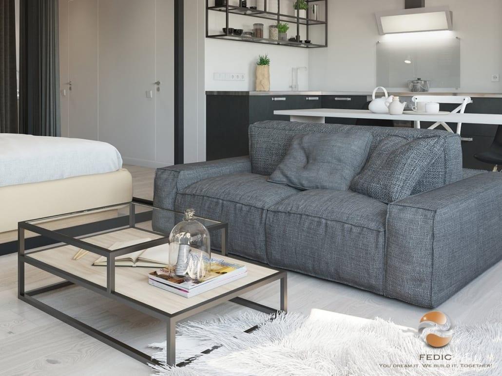 Sofa-phong cách scandinavian
