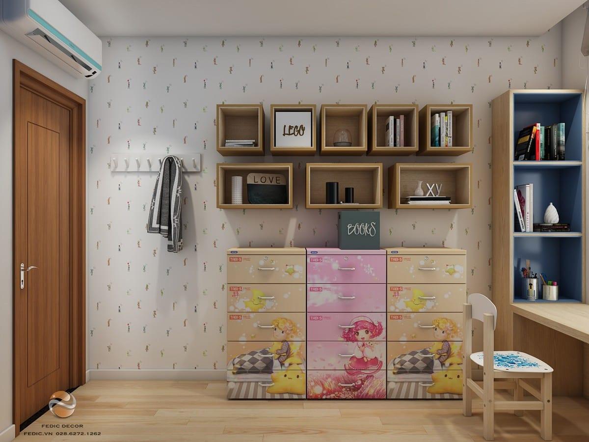 Phòng ngủ kid 3