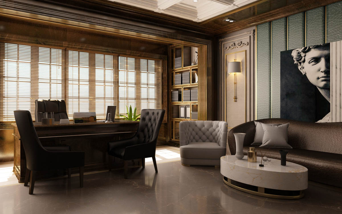 Neoclassic office
