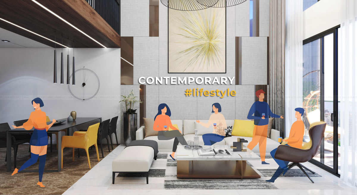 Phong cách Đương Đại- Contemporary style-Fedic