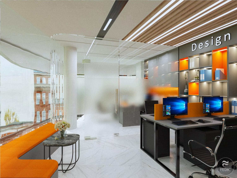 Nội thất Office tower_Q2_Fedic