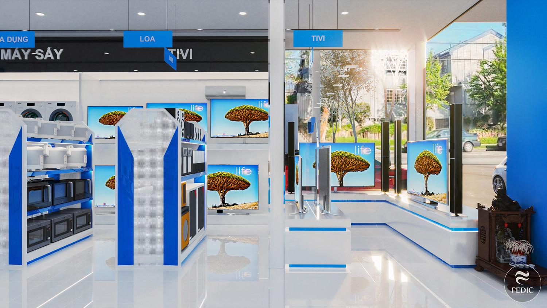 Nội thất showroom Phương Vy_Fedic